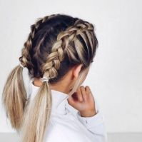 Best 20+ Braiding short hair ideas on Pinterest