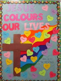 25+ best ideas about Religious bulletin boards on Pinterest
