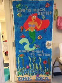"""The Little Mermaid"" classroom door for an under the sea ..."