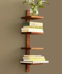 Modern Column Shelf at dotandbo.com | Wood wood ...