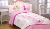 5pc DISNEY PRINCESS Pink Hearts FULL BEDDING SET ...