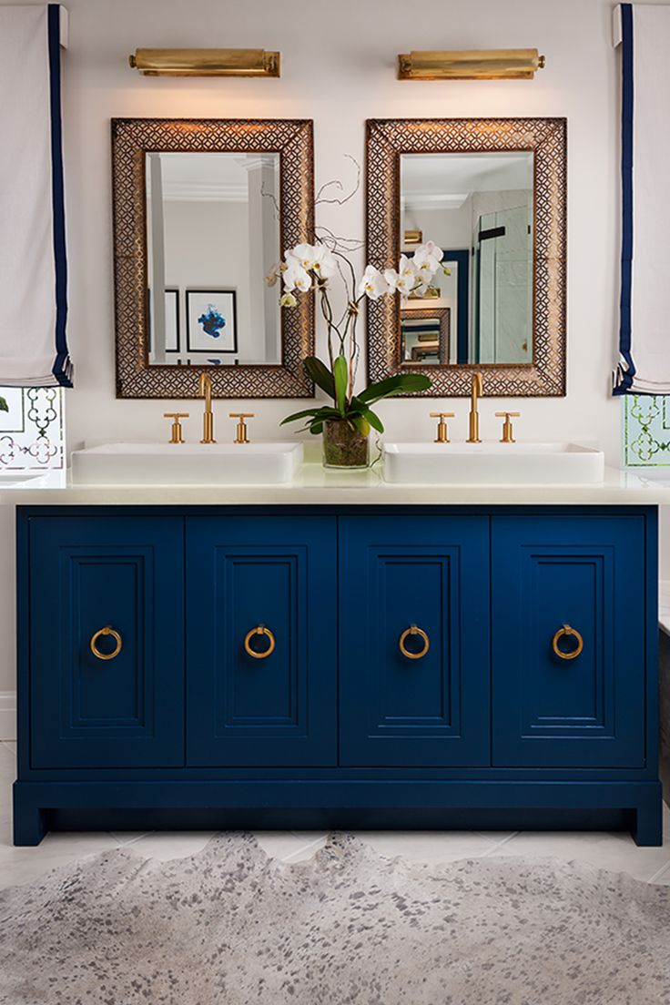 25 best ideas about blue vanity on pinterest blue