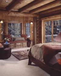1000+ ideas about Log Cabin Bedrooms on Pinterest | Log ...