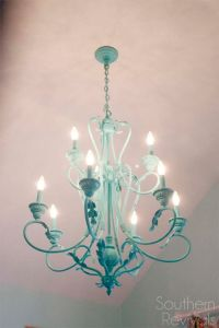 25+ best ideas about Paint Chandelier on Pinterest ...