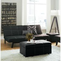 Delaney Futon Sofa Bed 3 Piece Living Room Set, Multiple ...