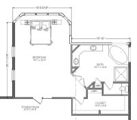 Master Bathroom And Closet Floor Plans - WoodWorking ...