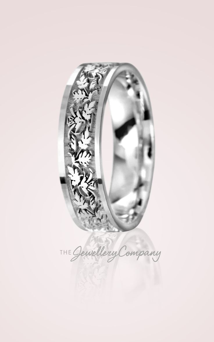 celtic wedding rings pagan wedding rings The Jewellery Company s Celtic Leaves wedding band is perfect for those who are looking for a