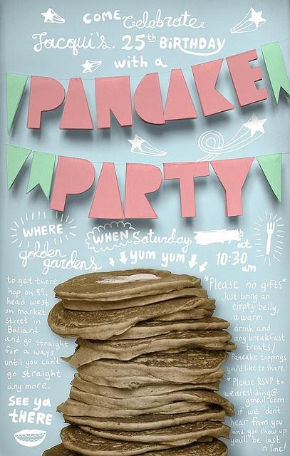 party invite flyer