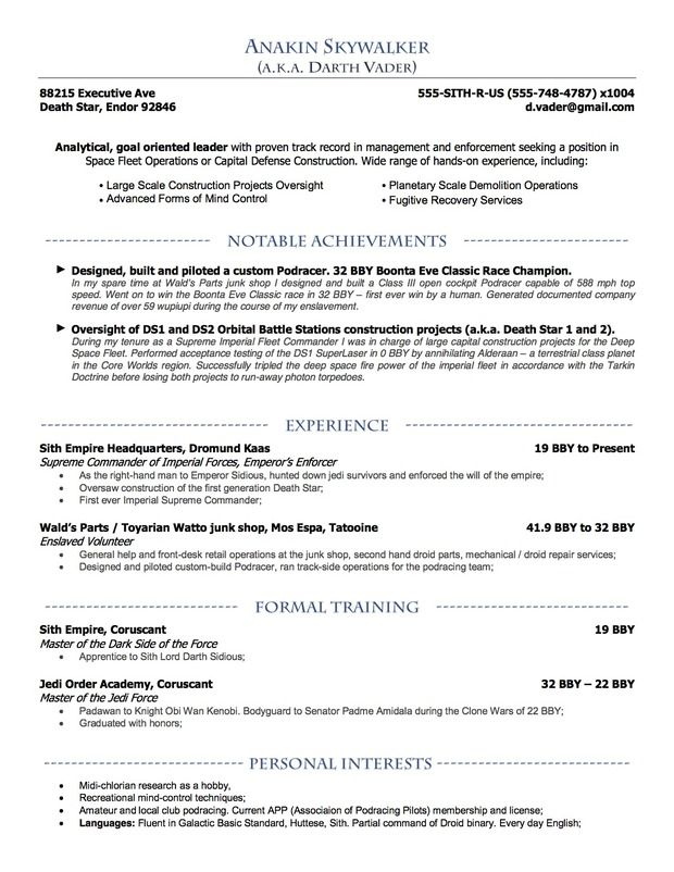 ucla resume guide