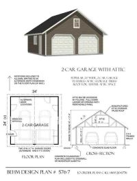 Garage Plans By Behm Design - PDF Plans: a collection of ...