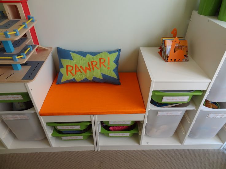 Ikea Childrens Bookshelf Turn Two Ikea Trofast Units Into Reading Seat | Bucket