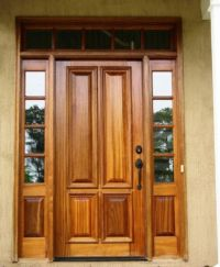 25+ best ideas about Entry door with sidelights on ...