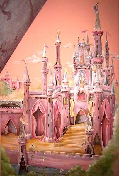 Baby Girl Nursery Wallpaper Uk 17 Best Ideas About Castle Mural On Pinterest Princess