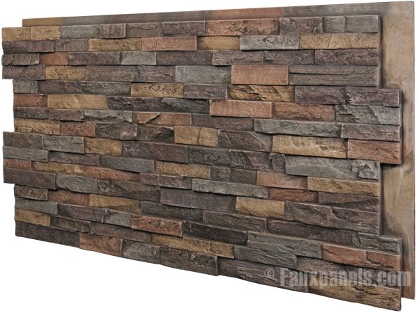 Different Types Of Kitchen Islands Indoor Stone Veneers | Vwvortex.com - Interior Stacked