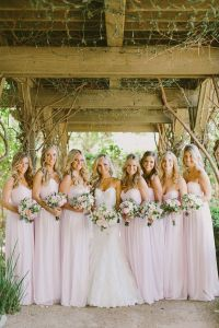 25+ best ideas about Pink bridesmaid dresses on Pinterest
