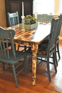 1000+ images about Distressed kitchen table on Pinterest ...