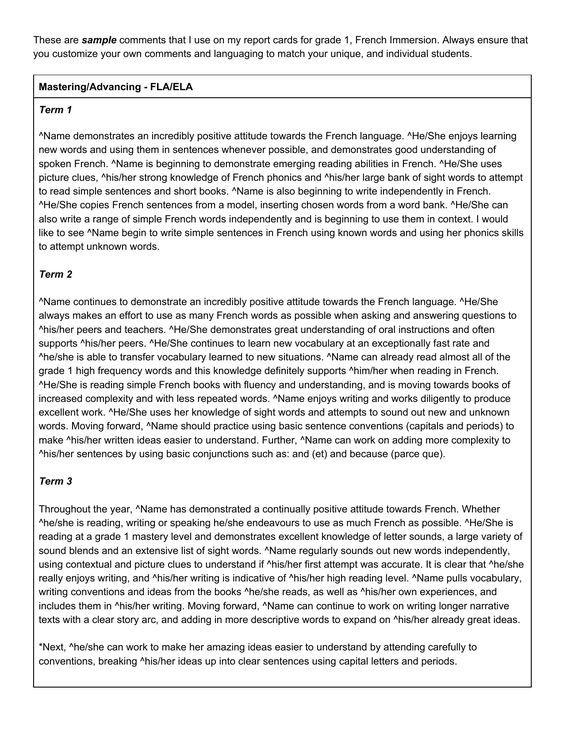 resume sample for french teacher
