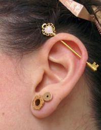 Best 25+ Ear piercings industrial ideas on Pinterest