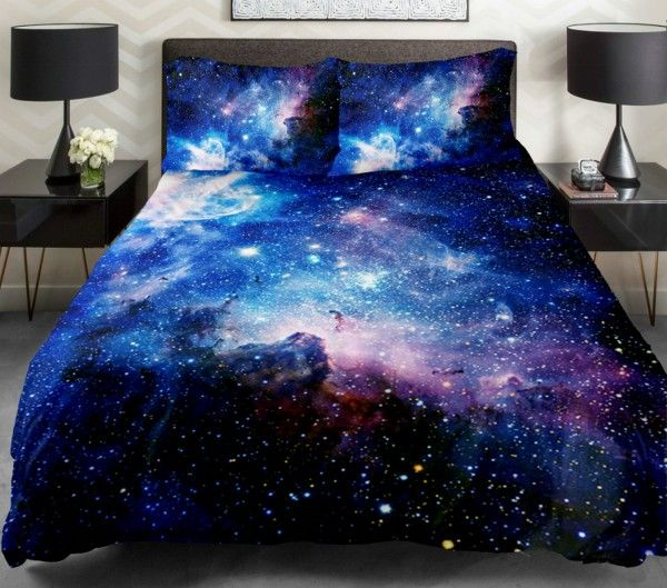 Satin Bettwäsche Blau 25+ Best Ideas About Galaxy Bedding On Pinterest | Galaxy