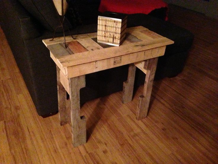 1000+ Images About End Table On Pinterest   Stump Table, Ana White