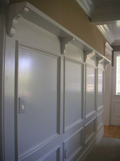 Diy Crown Molding Shelf With Hooks Woodworking Projects
