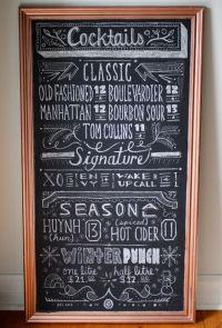 Best 25+ Menu chalkboard ideas on Pinterest | Chalk menu ...