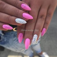 25+ best ideas about Pink nails on Pinterest | Pretty ...