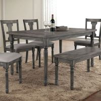 25+ Best Ideas about Gray Dining Tables on Pinterest ...