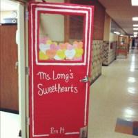 Classroom door decoration: Conversation Hearts Box ...
