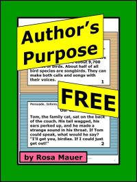 78 best images about Author's Purpose on Pinterest ...