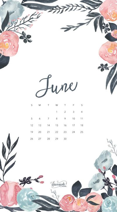 Обои iPhone wallpaper calendar June 2016 | Обои iPhone wallpapers | Pinterest | Calendar june ...