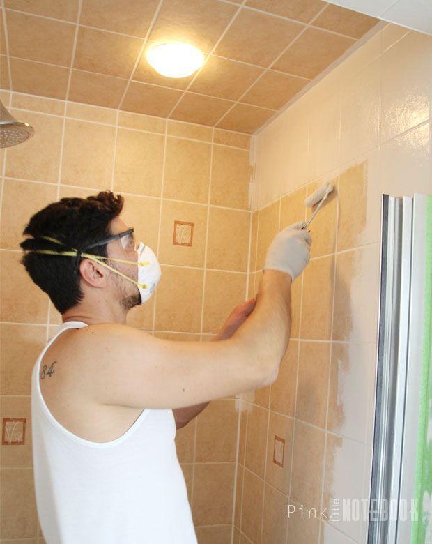 1000+ Ideas About Paint Bathroom Tiles On Pinterest   Painting