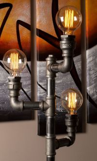 25+ best ideas about Industrial floor lamps on Pinterest ...
