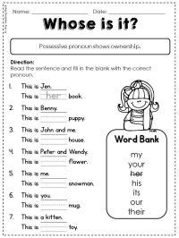 25+ best ideas about Nouns First Grade on Pinterest