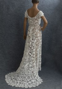 Irish crochet lace wedding dress, c.1912 | Weddings ...