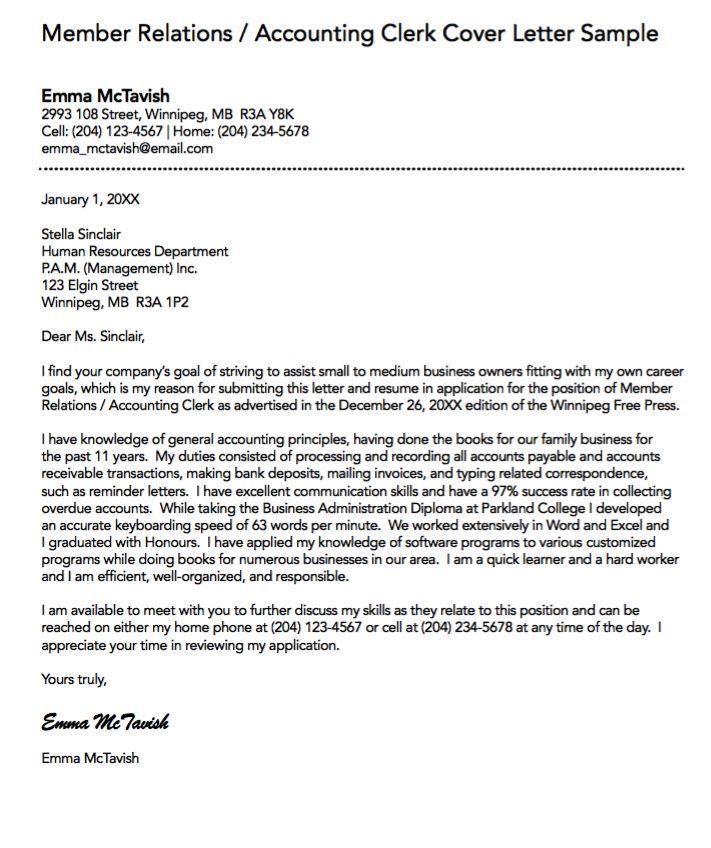 epik cover letter