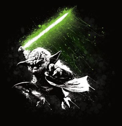 Yoda | Ted Mininni | Cool stuff | Pinterest | Digital art, Style and Spice