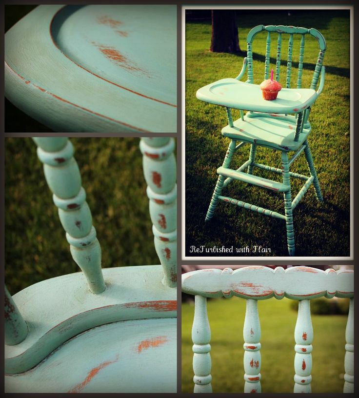 Custom Jenny Lind High Chair For A Little Girl39s 1st