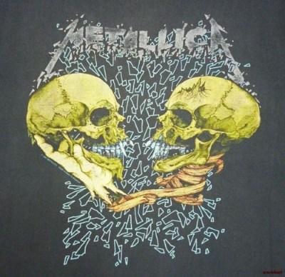 Metallica Vintage 90's T Shirt Concert 1991 Sad But True Pushead Black Tour XL | Vintage, T ...