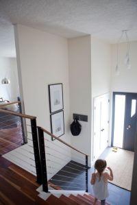 Split level entryway. | Project | Pinterest | Cable ...