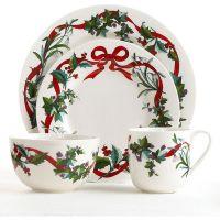 Martha Stewart Collection Dinnerware, Holiday Garden. | X ...