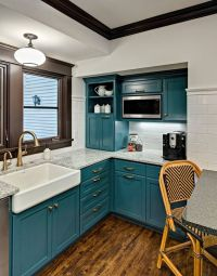 Best 20+ Teal kitchen cabinets ideas on Pinterest ...