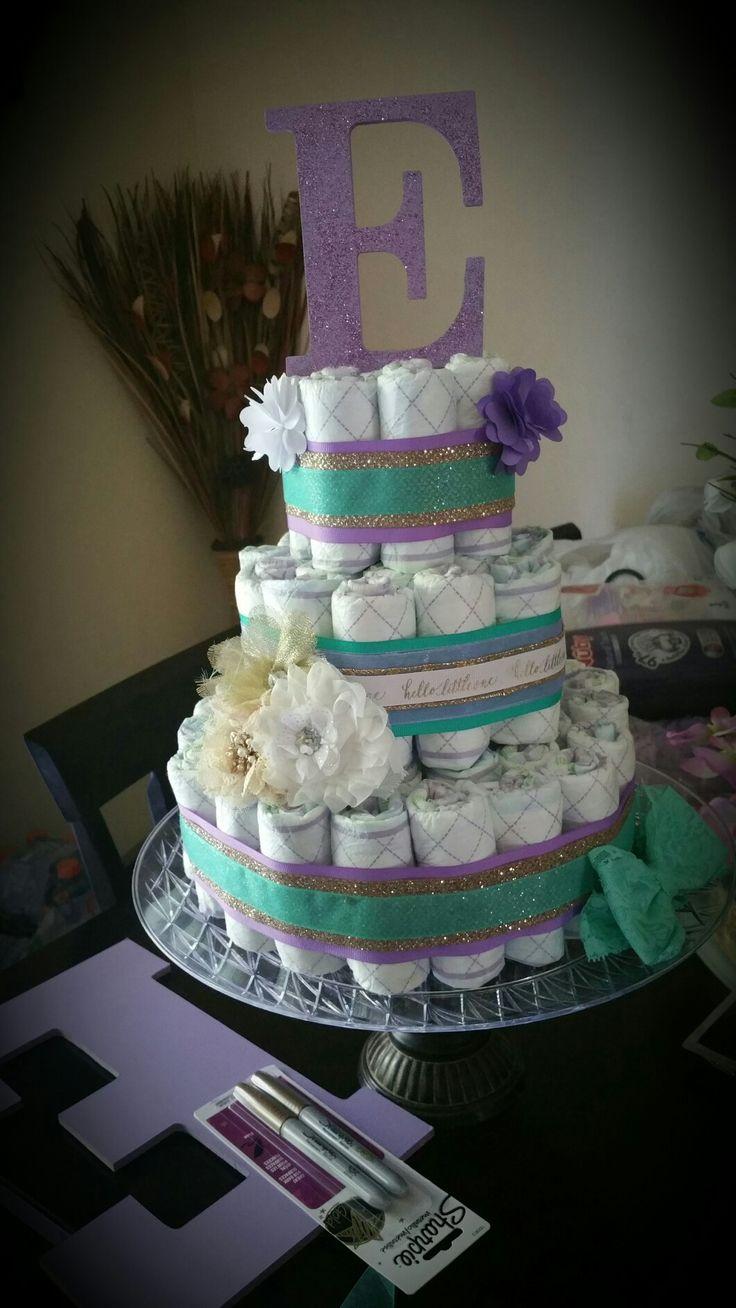 25+ best ideas about Princess diaper cakes on Pinterest