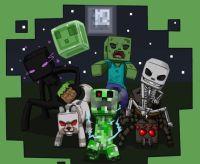 New MINECRAFT MOBS Black And Green | Minecraft | Pinterest ...