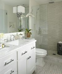 25+ best ideas about Small White Bathrooms on Pinterest ...