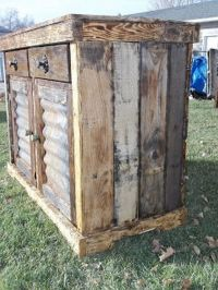 Outdoor Liquor Cabinet - WoodWorking Projects & Plans