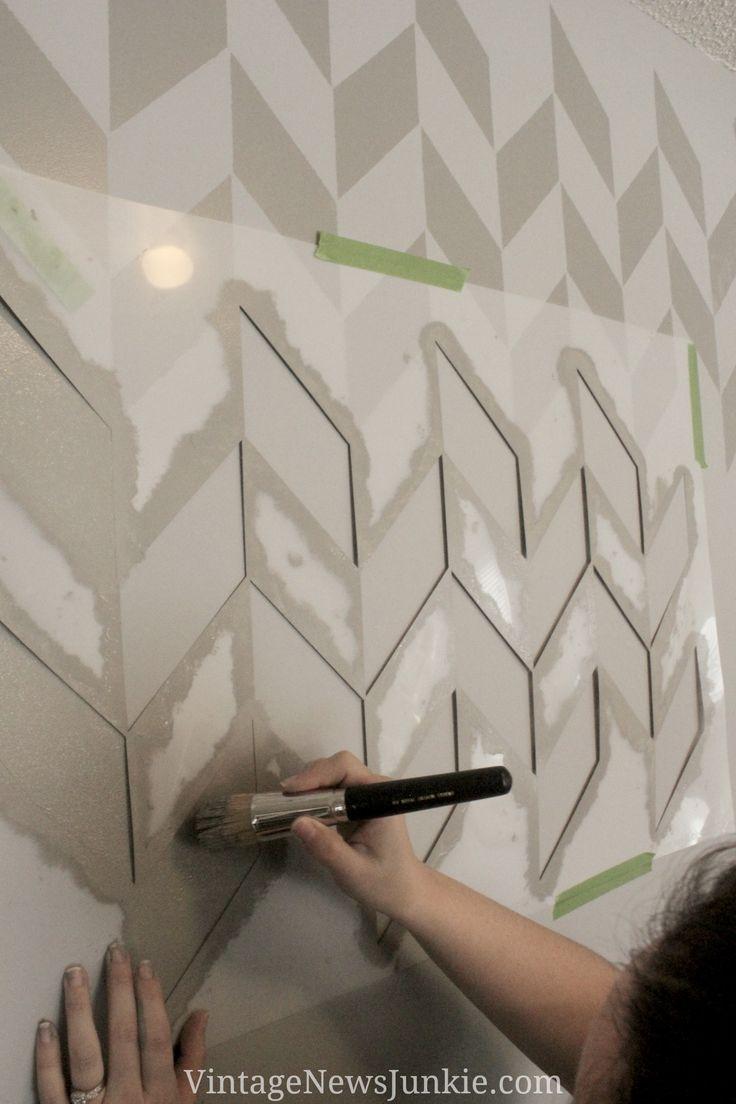 25+ best ideas about Herringbone Wall on Pinterest