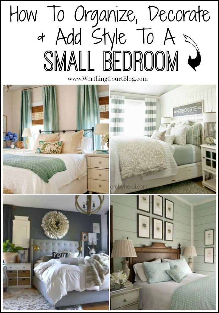 1000+ Ideas About Decorating Small Bedrooms On Pinterest   Small