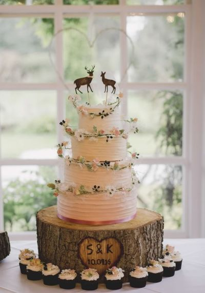 25+ best ideas about Rustic wedding cakes on Pinterest ...