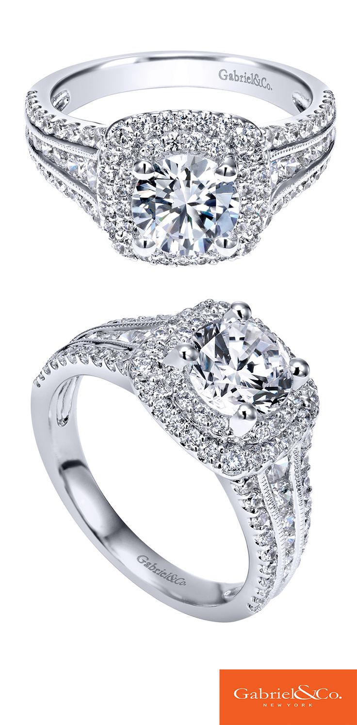 beautiful engagement rings dolphin wedding rings Now at Malak Jewelers Love is in the details A White Gold Diamond Halo Engagement Ring Discover your perfect engagement ring at Gabriel Co